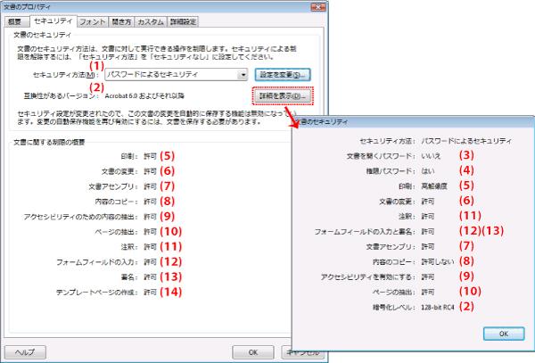 パスワード 設定 pdf